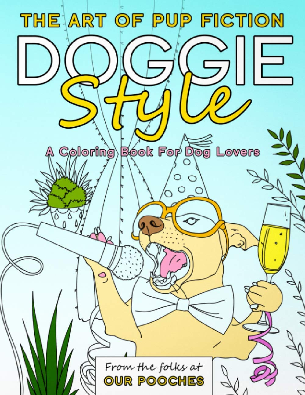 Doggie Style Coloring Book