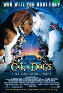 Movie poster for movie Cats and Dogs