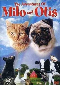 movie poster for Milo and Otis