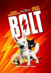 movie poster for the movie Bolt